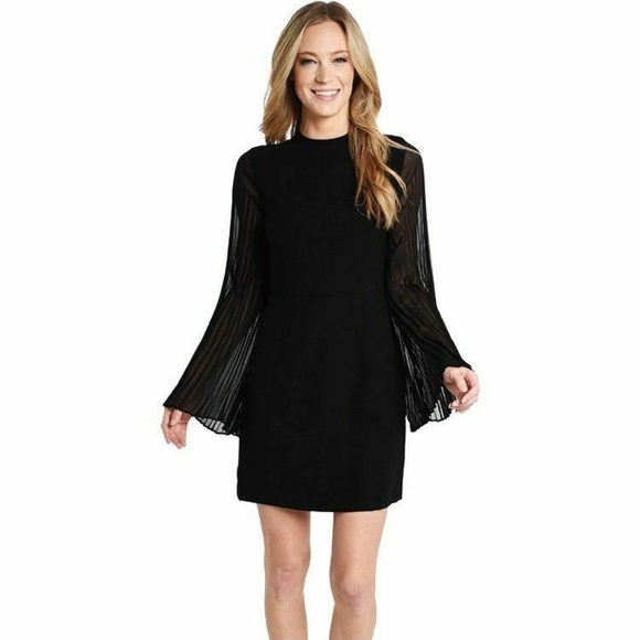 25d60ef5498 Cupcakes Cashmere Sheath Bell Sleeve Black Dress-2. NWT